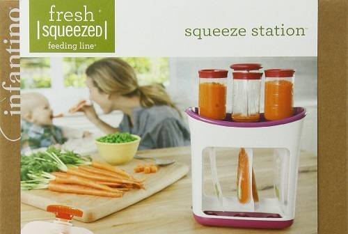 Infantino Squeeze Station - The Best Baby Food Maker