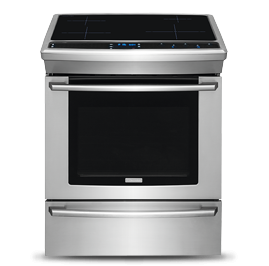 electrolux ew30is80rs slide-in induction range