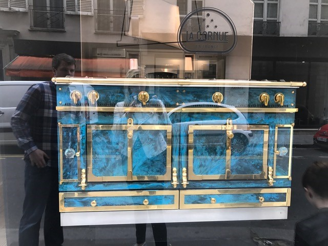jace and michelle kieffer visit the la cornue factory in france oh la la by kieffer 39 s. Black Bedroom Furniture Sets. Home Design Ideas