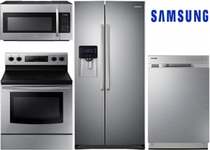 Samsung Basic Stainless Steel Kitchen Package