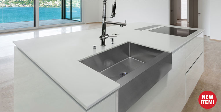 Madeli stainless steel farm sink