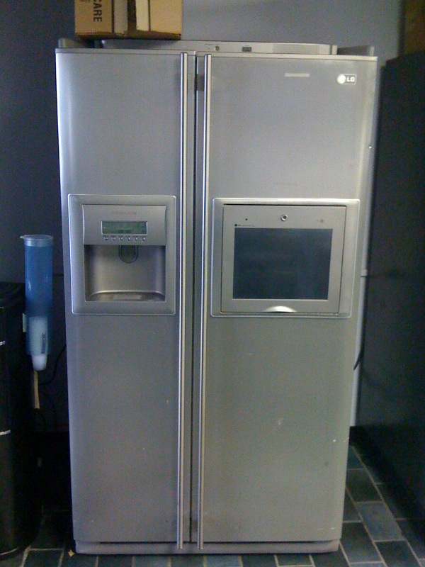 first lg internet ready refrigerator