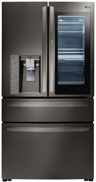 LG InstaView 4-Door Refrigerator with Door-in-Door - LMXS30796D