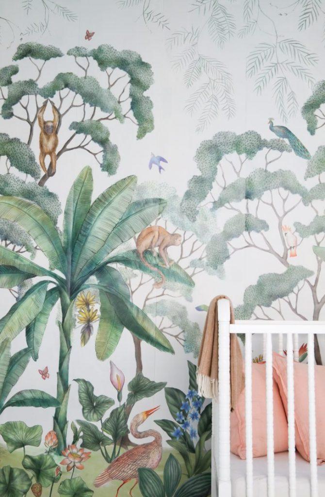 Original Walls from A Tropical World