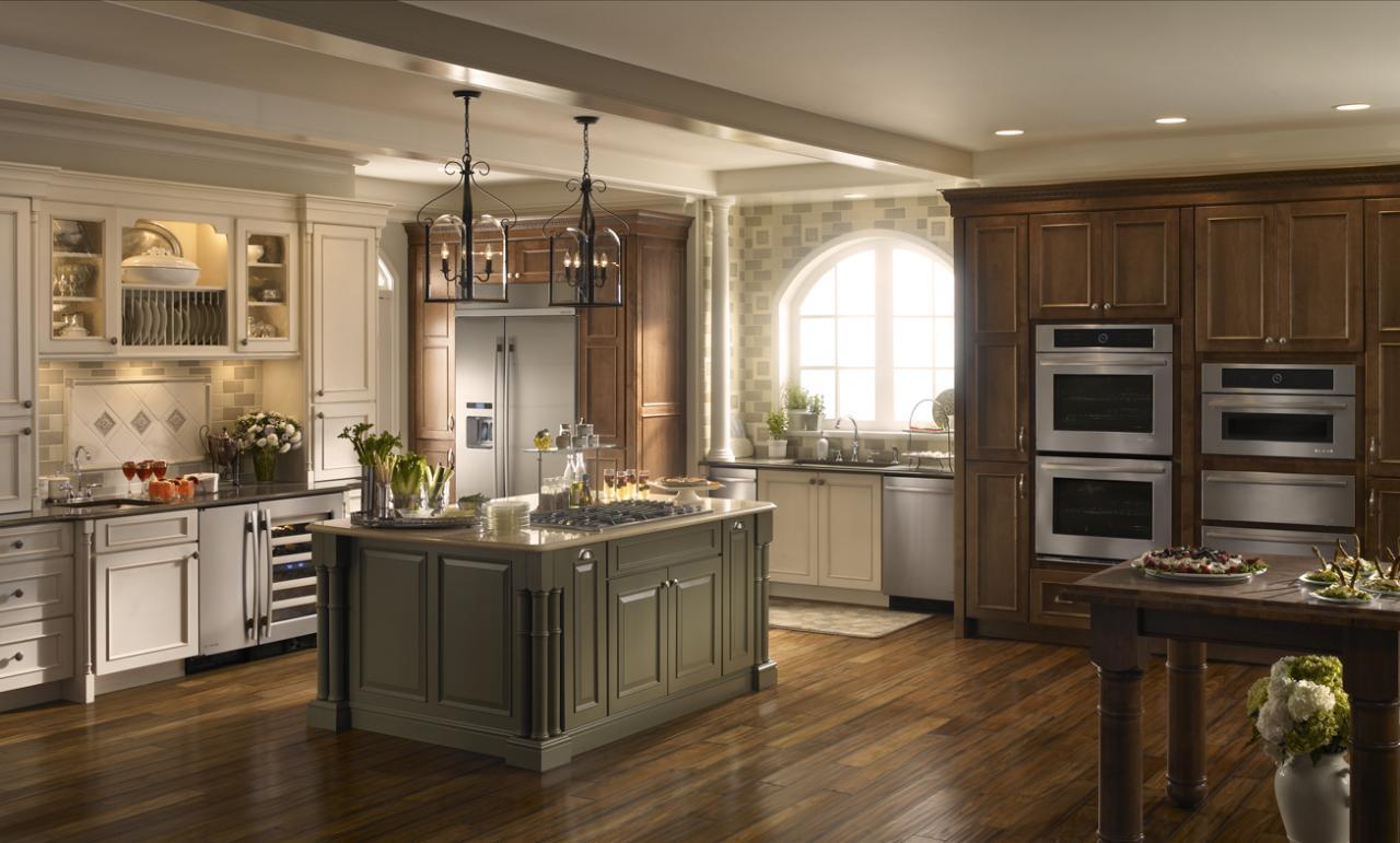 Jenn-Air kitchen appliance package