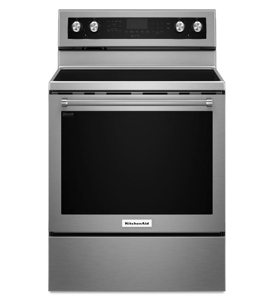 kitchenaid kfeg500ess freestanding range