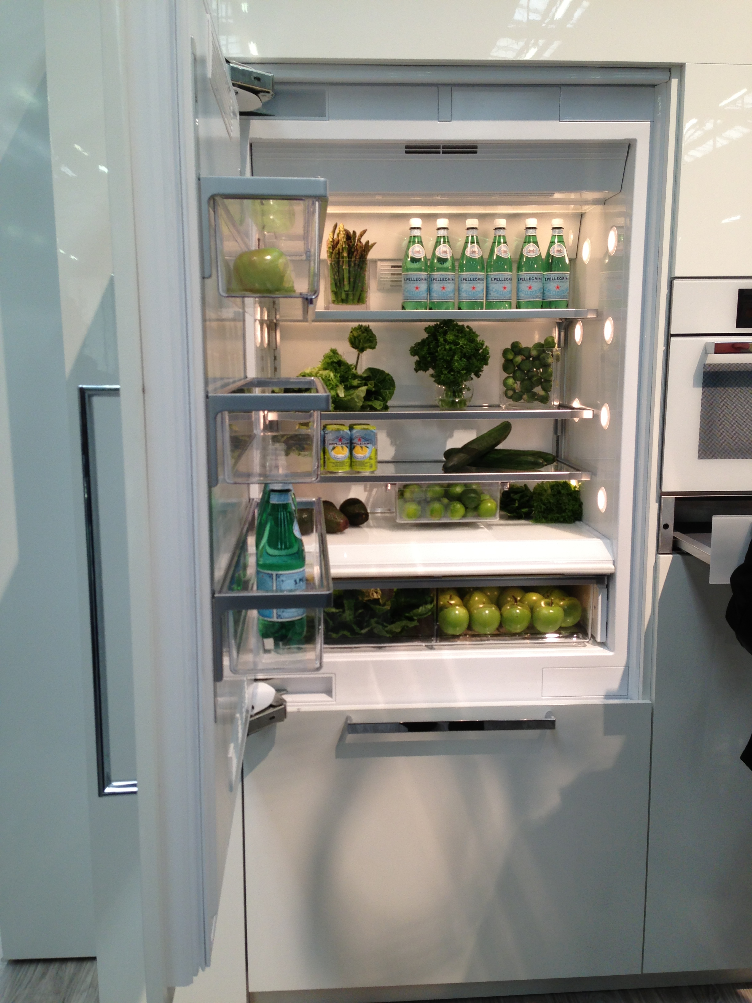 I wouldn't trust anyone who has this organized of a refrigerator.