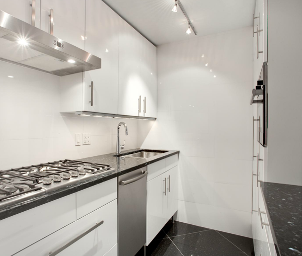Notice how this Miele is installed flush with the cabinetry?