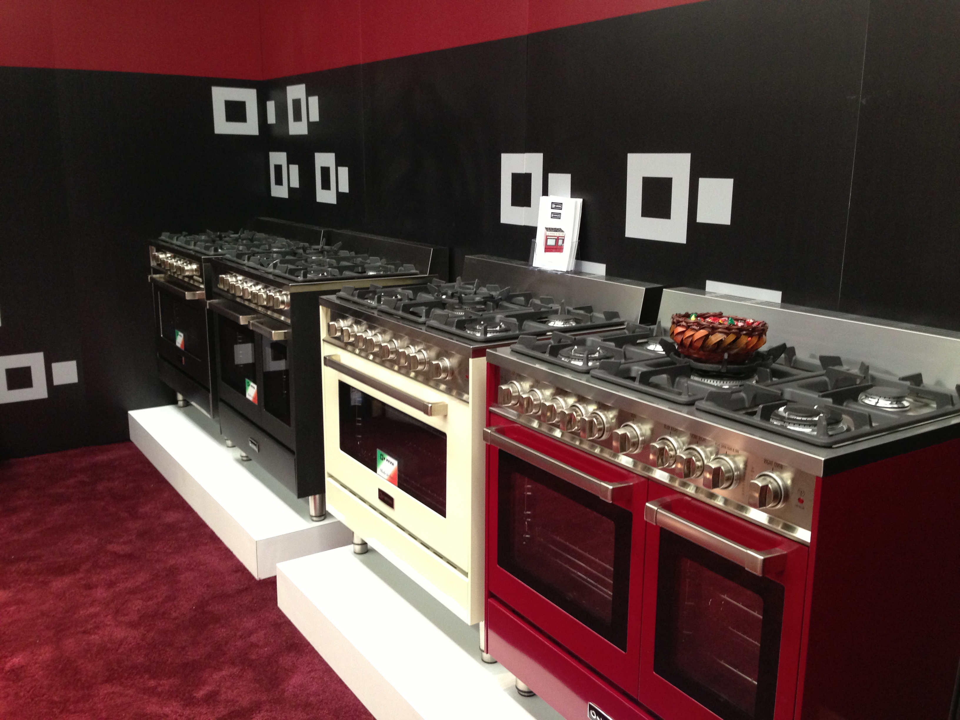 Ranges, Cooktops, Wall Ovens, a special Verona blog post is coming soon.