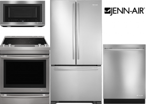 Jenn-Air Stainless Steel Kitchen Package