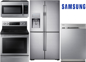 Samsung 4 Door Refrigerator Package