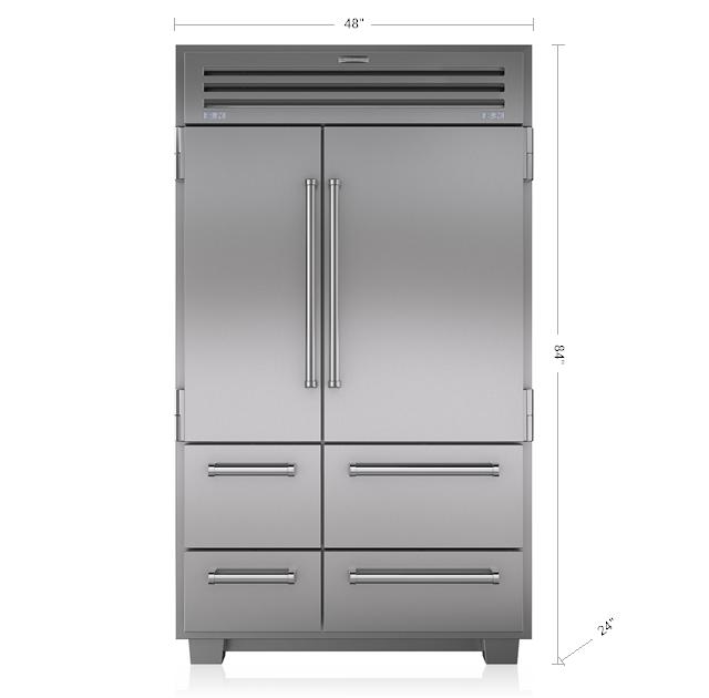 sub zero counter depth refrigerator