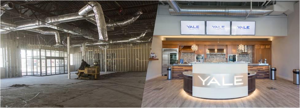 yale renovations