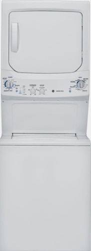 unitized washer and dryer
